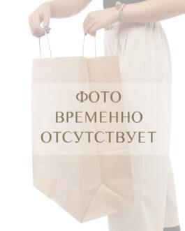 "Пакет ""Санкт-Петербург"" 260*140*350 бурый крафт (80 гр) с кручеными ручками"
